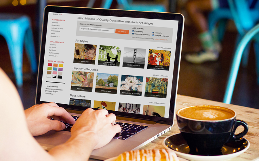 Springbox eComm Websites Gallery Direct Stock Images