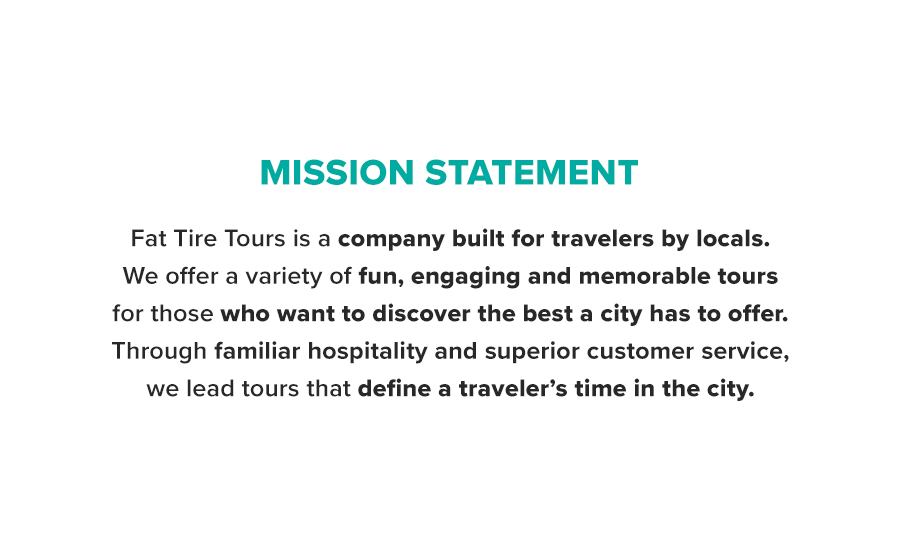 Springbox Brand Positioning Messaging Fat Tire Mission Statement