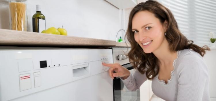 Indbygget hvidevare opvaskemaskine