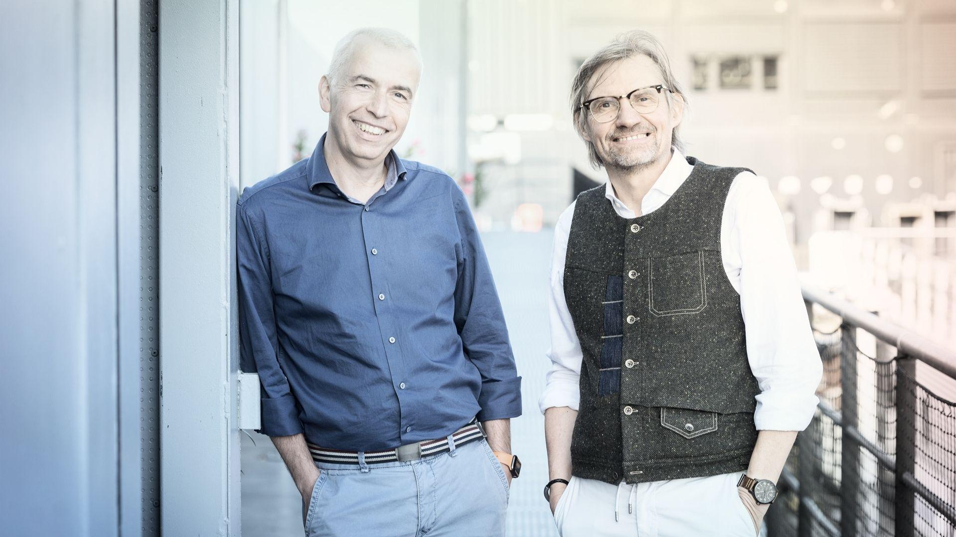 Olav Strawe (l) und Ralf Mühlenhöver (r)