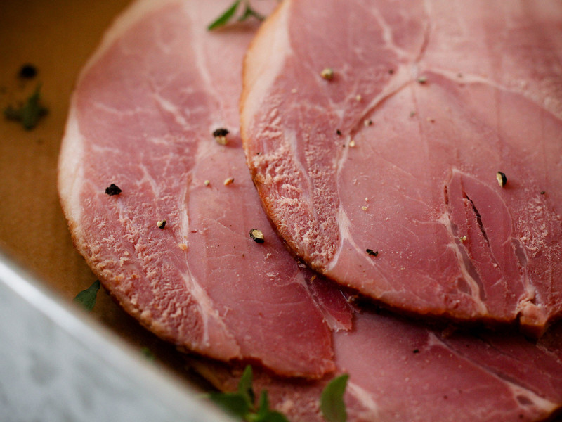 Premium cooked ham from Gills Heritage