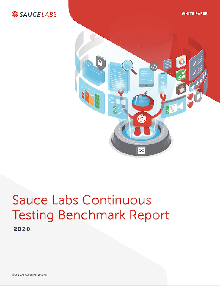 Cover for the Continuous Testing Benchmark Report