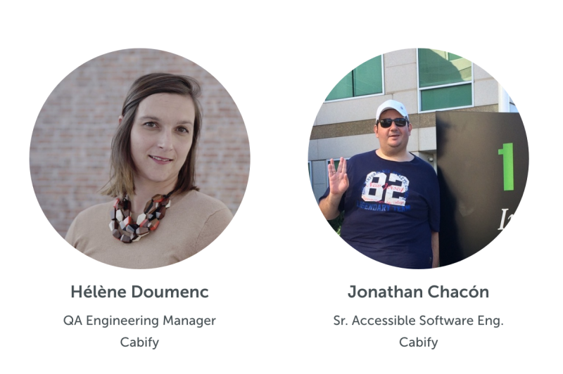 Hélène Doumenc and Jonathan Chacón will co-present on accessibility testing at SauceCon 2020.