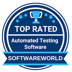 top rated automated testing software award
