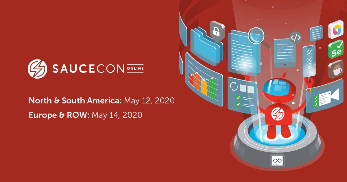 SauceCon Online banner for 2020