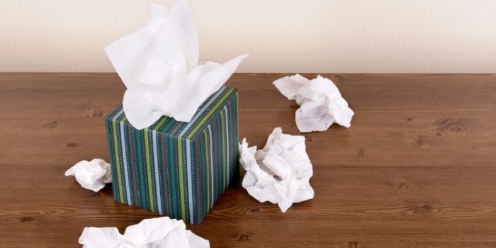 Har du tenkt på at papiret du bruker til å snyte deg med faktisk kan være for hardt mot huden?