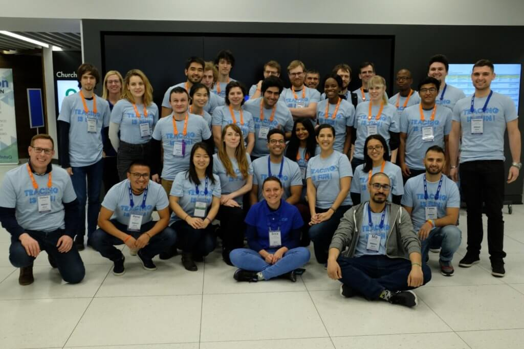 QCon 2019 Lightstep Volunteers