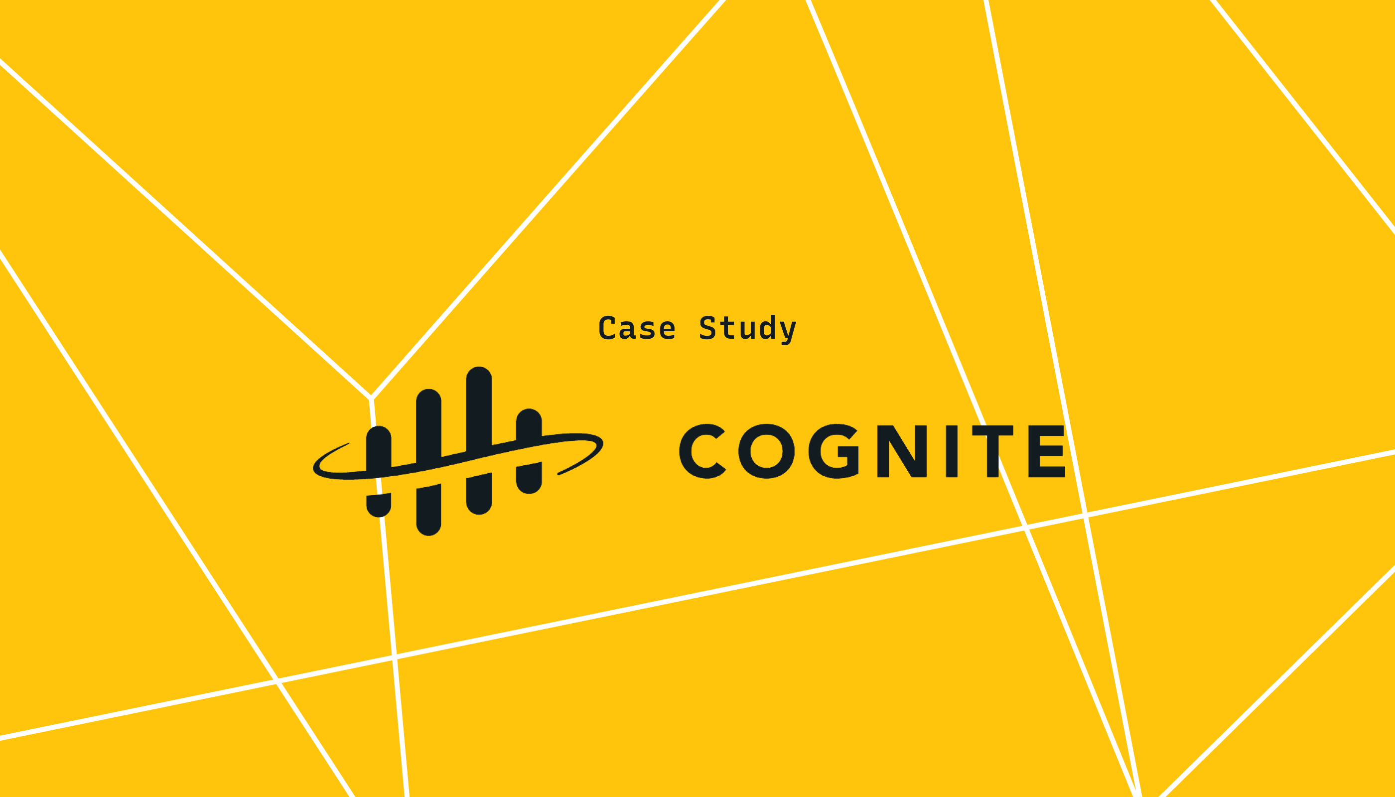 Lightstep Brings Observability to Cognite's Industrial Data Platform