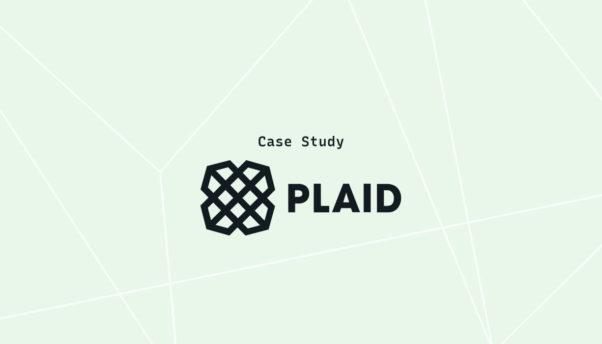 Plaid investigates CI/CD issues 20x faster with Lightstep
