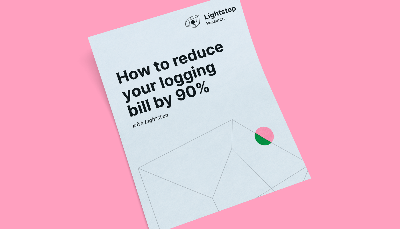 How to Reduce Your Logging Bill by 90%