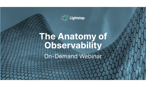 The Anatomy of Observability