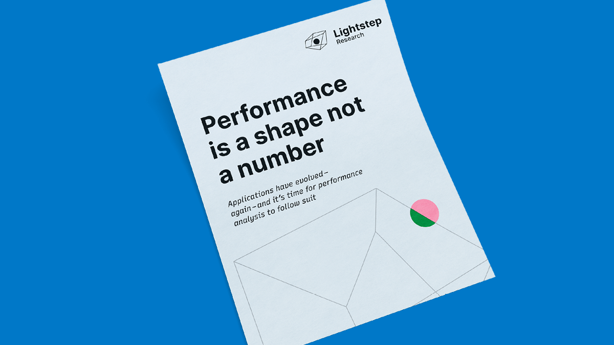 Performance is a Shape – Not a Number