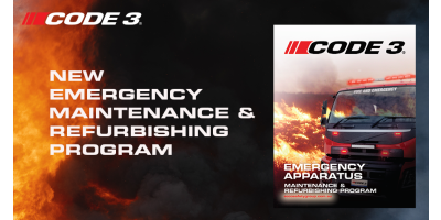 Code 3 Launches Emergency Apparatus Maintenance & Refurbishing Program