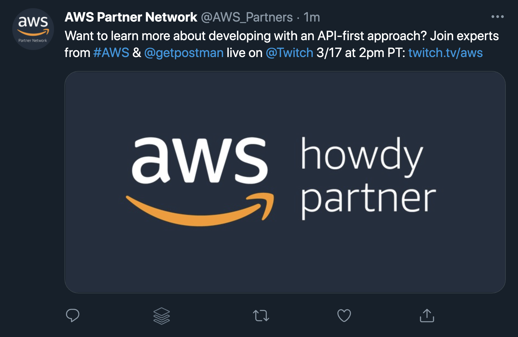 AWS builds developer communities