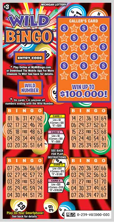 Wild Bingo | Michigan Lottery