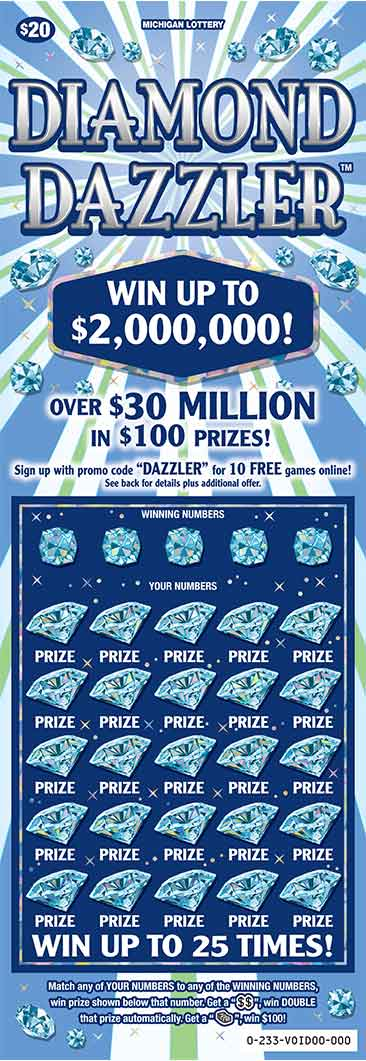 Diamond Dazzler | Michigan Lottery