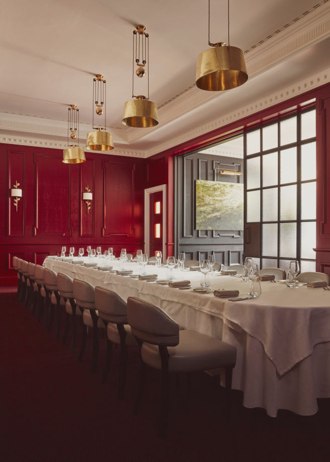 The Private Dining Room.