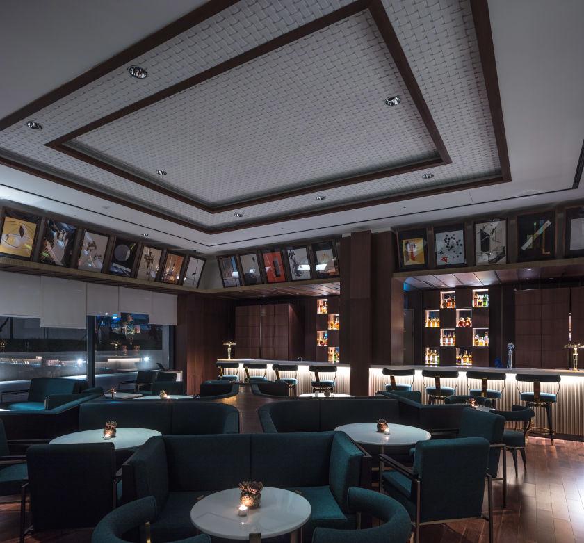 The Latitude 31 lounge.