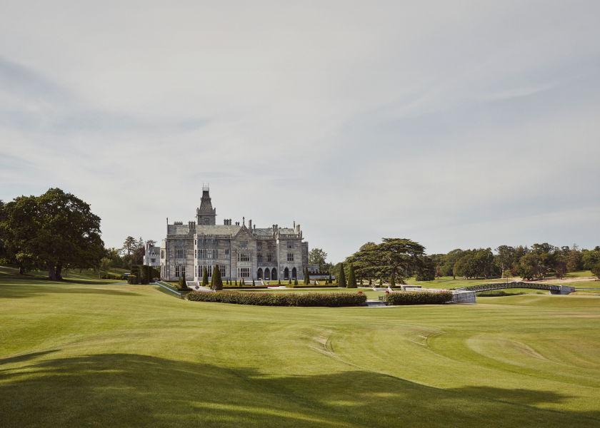 The Adare Manor estate.