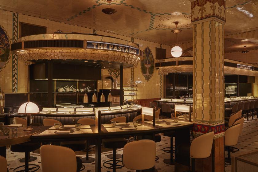 The Pasta Bar.