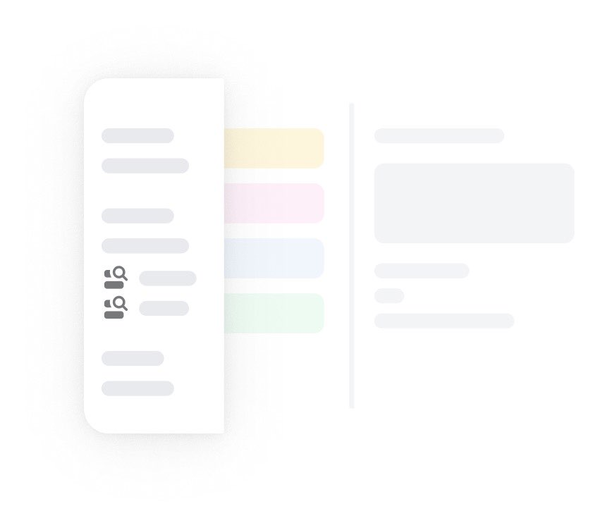 Inbox illustration highlighting that you can get insight into shared emails