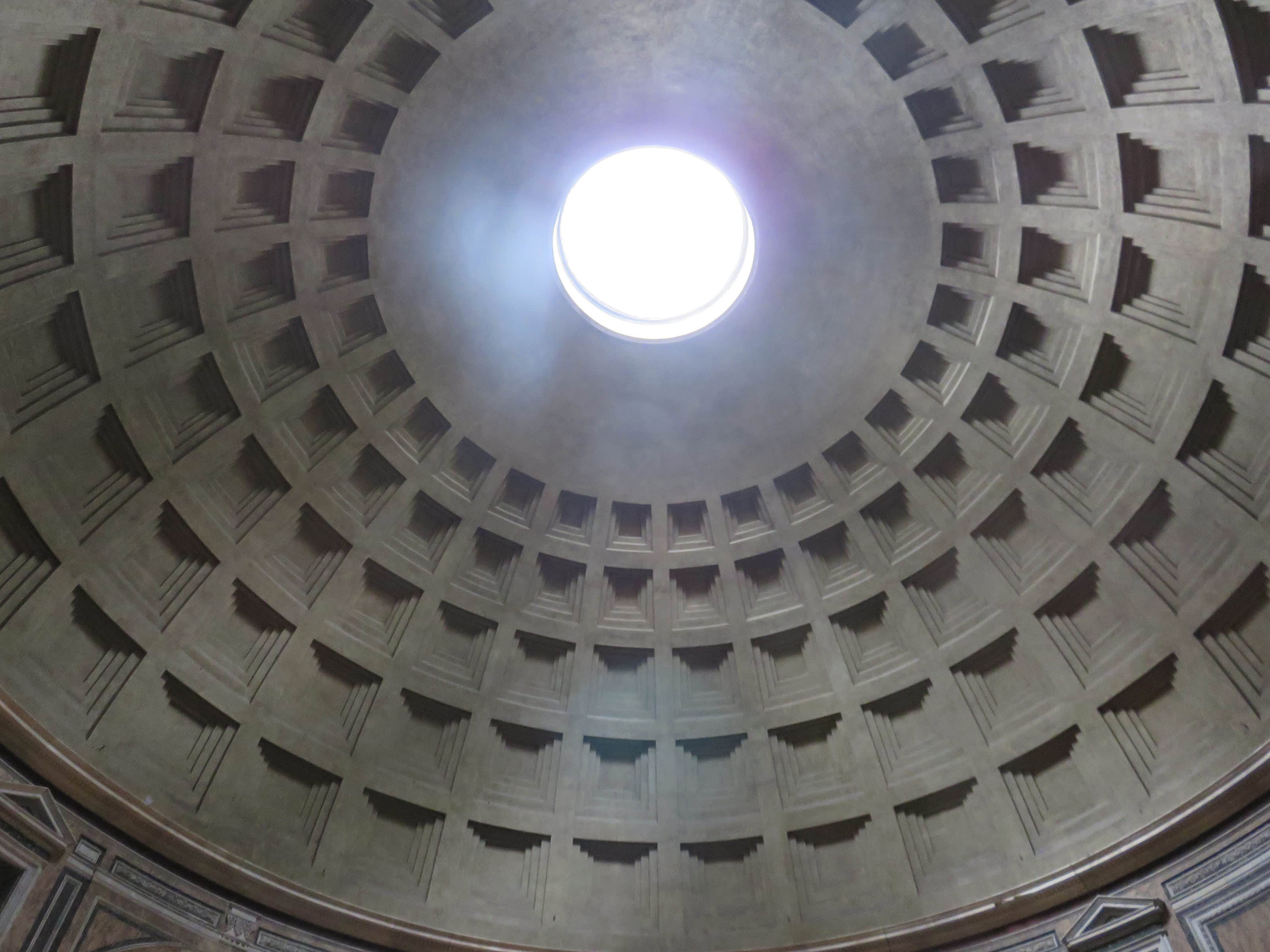 THE PANTHEON IS AN EXCELLENT EXAMPLE OF THE ENDURING QUALITY OF ROMAN CONCRETES USING VOLCANIC ASH.