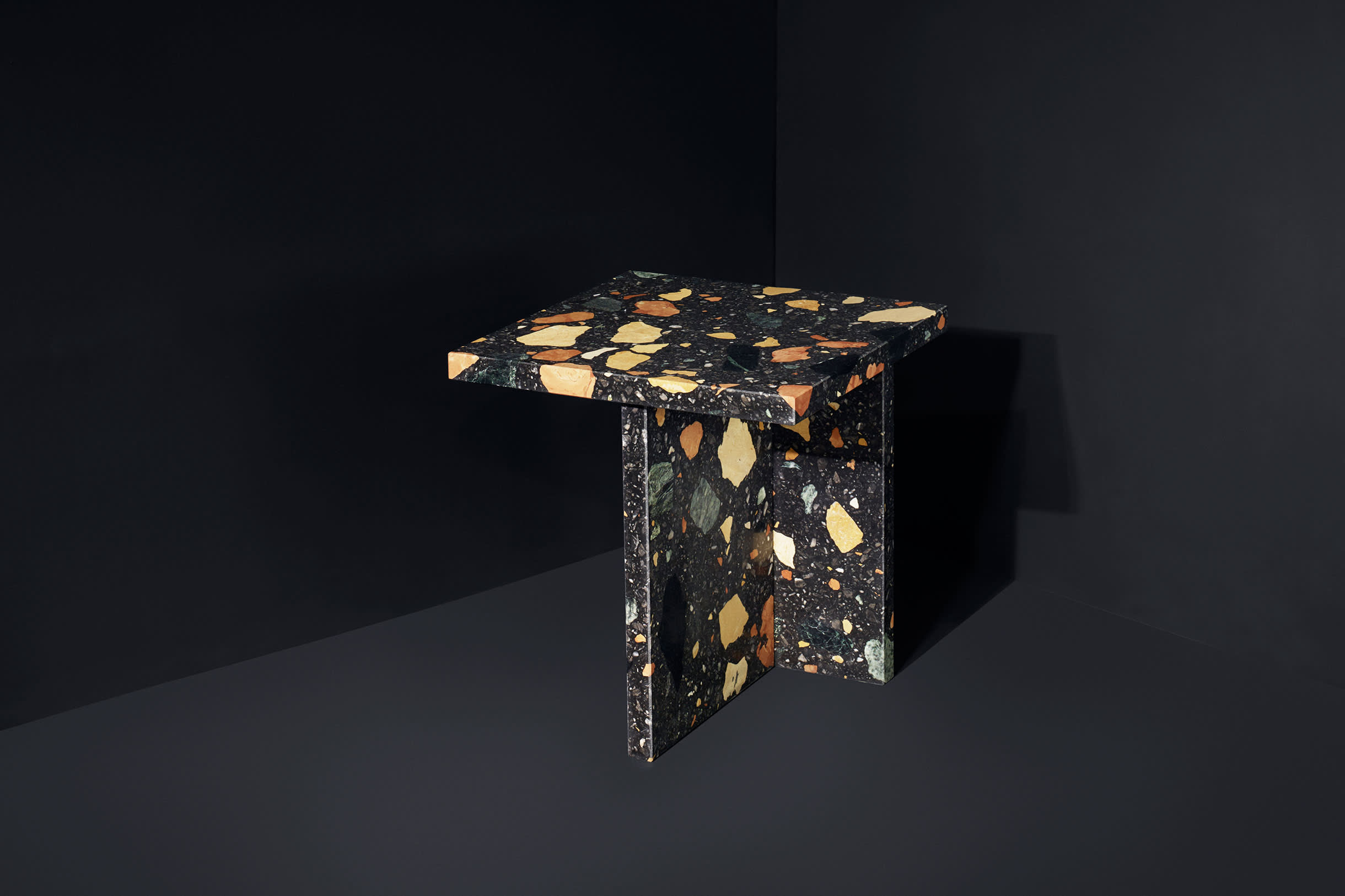 Dzek ML MarmorealSideTable