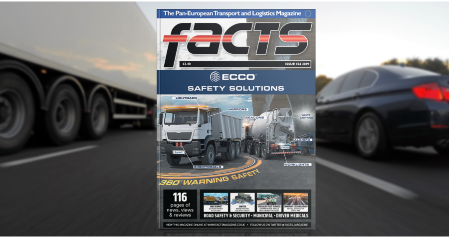 ECCO on Front Cover Of Facts Magazine