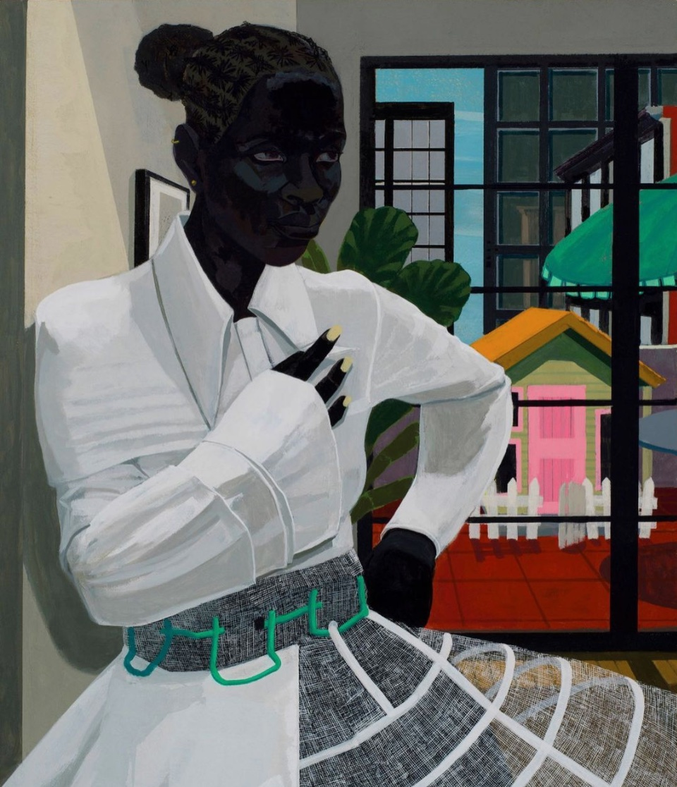 Untitled (And, so...) by Kerry James Marshall