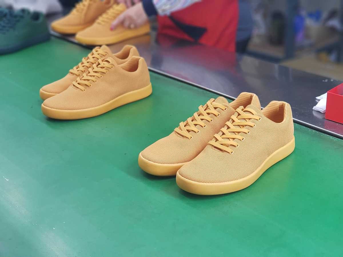 Classic Yellow Atoms at the factory.