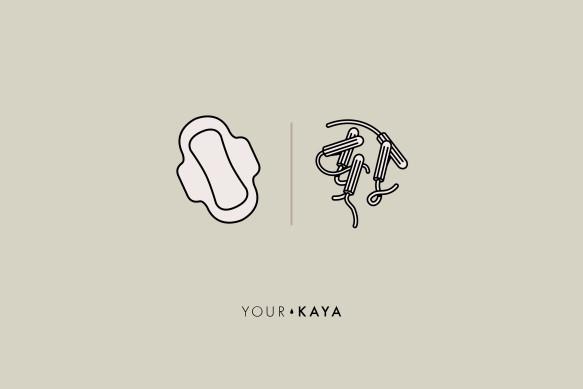 Tampons vs Pads Jarek Danilenko illustration