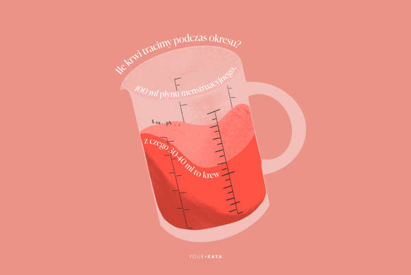 Ile krwi tracimy podczas okresu - ilustracja