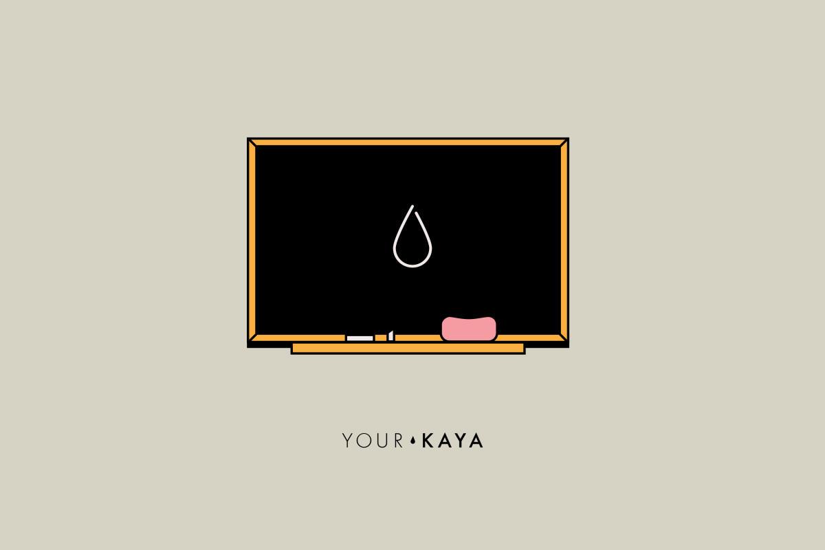 Co to jest menstruacja ilustracja Jarek Danilenko