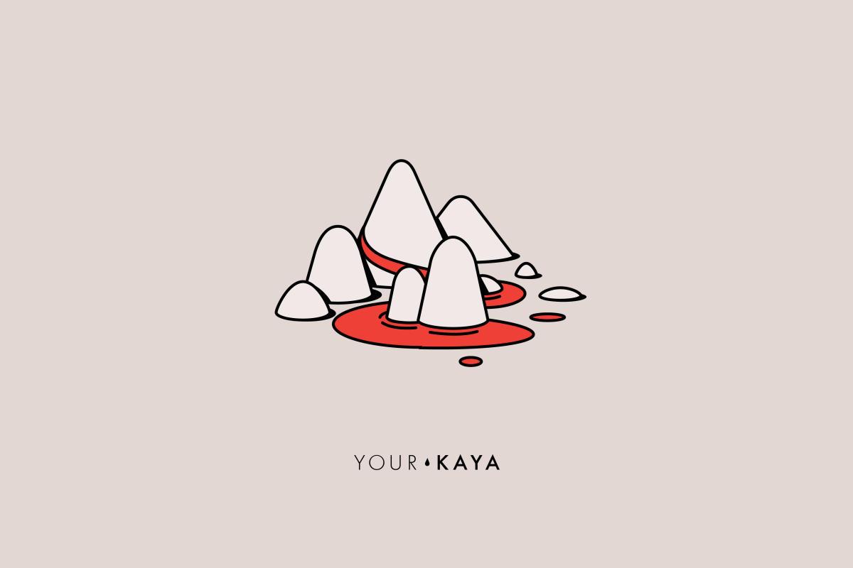 Why do women menstruate illustration by Jarek Danilenko