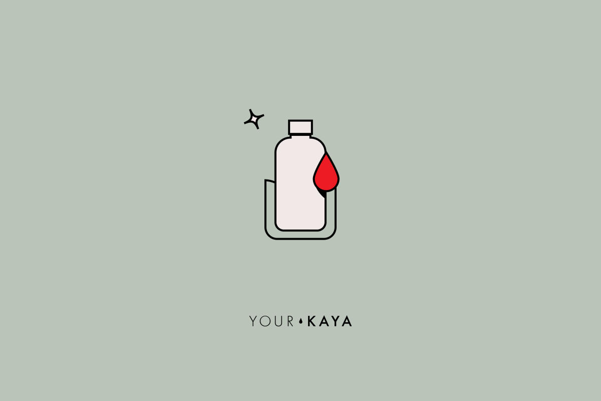 Hygiene during period illustration by Jarek Danilenko