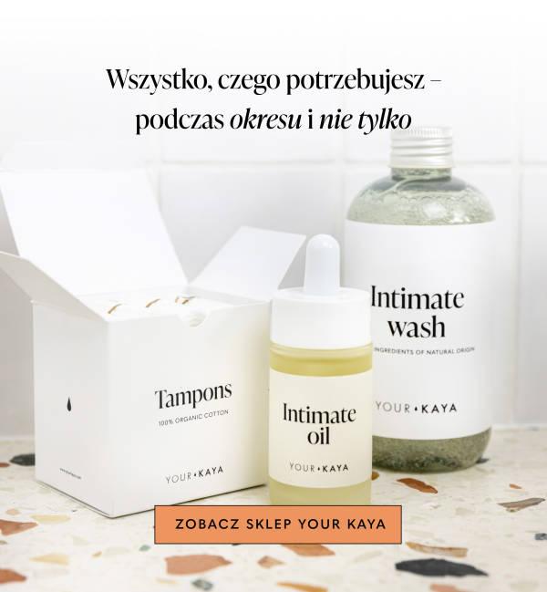 Produkty Your KAYA w białej łazience