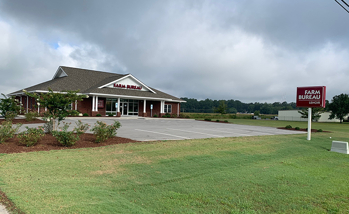 Lenoir County Kinston office - NCFB Insurance