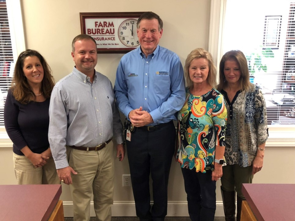Insurance Commissioner Stops by Dunn office