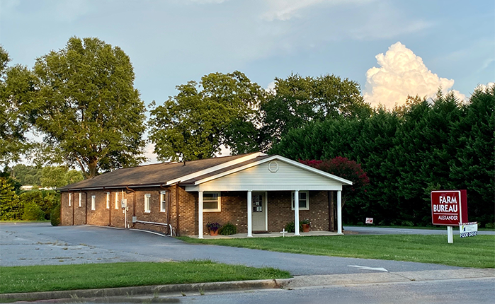 Alexander County Taylorsville office - NCFB Insurance
