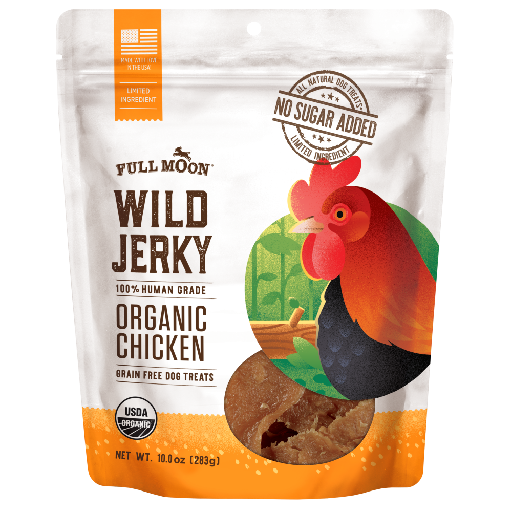 Wild Jerky Organic Chicken Full Moon