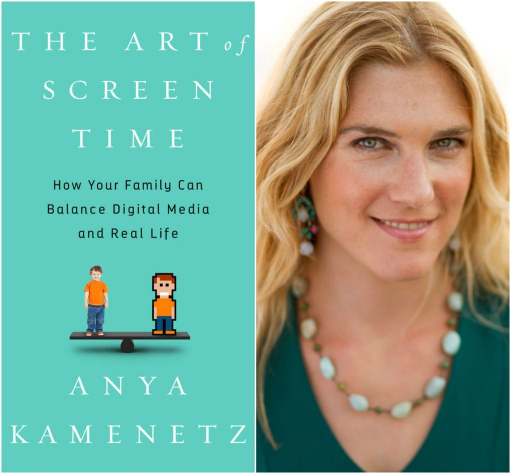 """The Art of Screen Time"" in the context of Remote Learning, a conversation with author Anya Kamenetz"