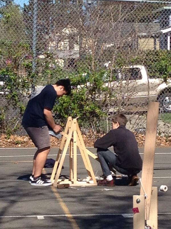 Trebuchet Made By Students