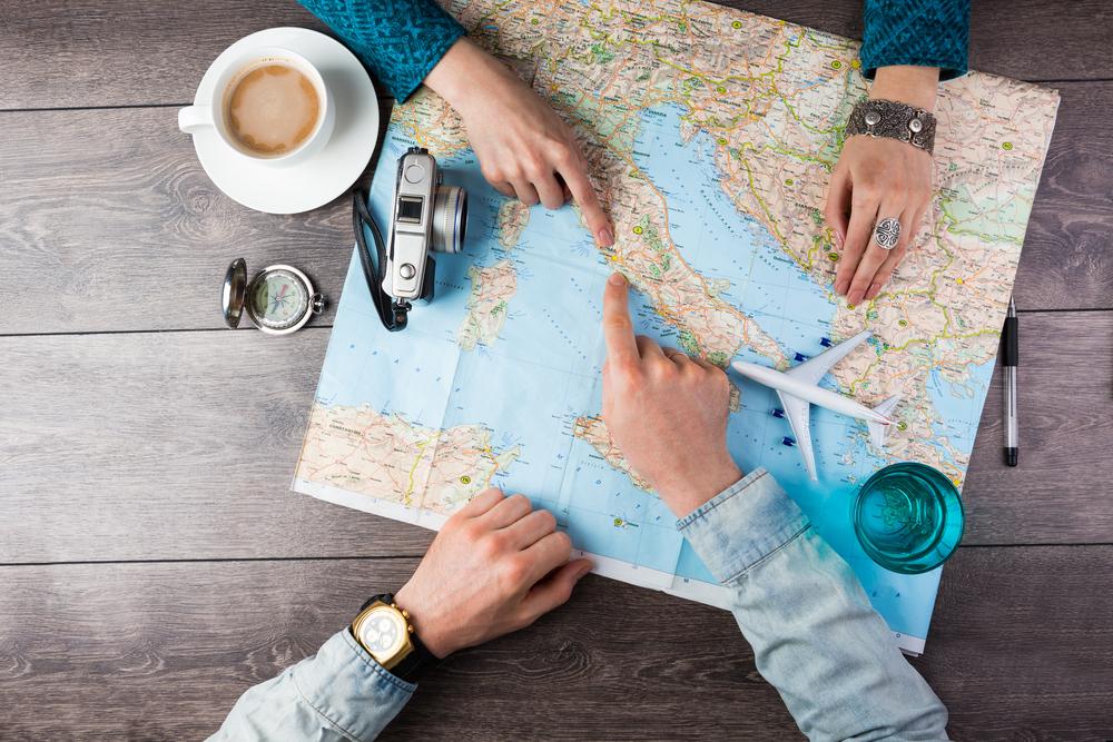 Reiseplanung Sabbatical