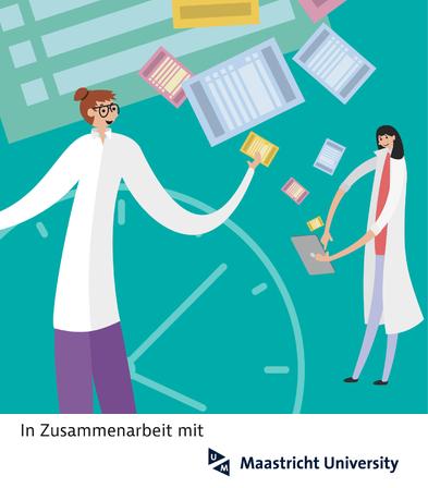 Illustration Fachkraft-Studie mit der Maastricht University