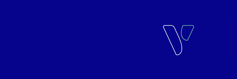 jobvalley V auf blauem Untergrund Banner