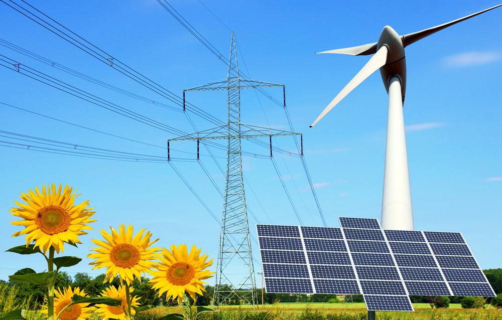 Wind- und Solarpark