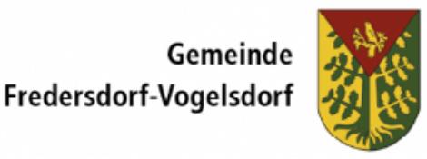 Gemeinde Fredersdorf-Vogelsdorf Logo
