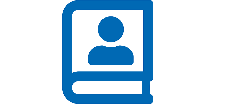icon book user 2