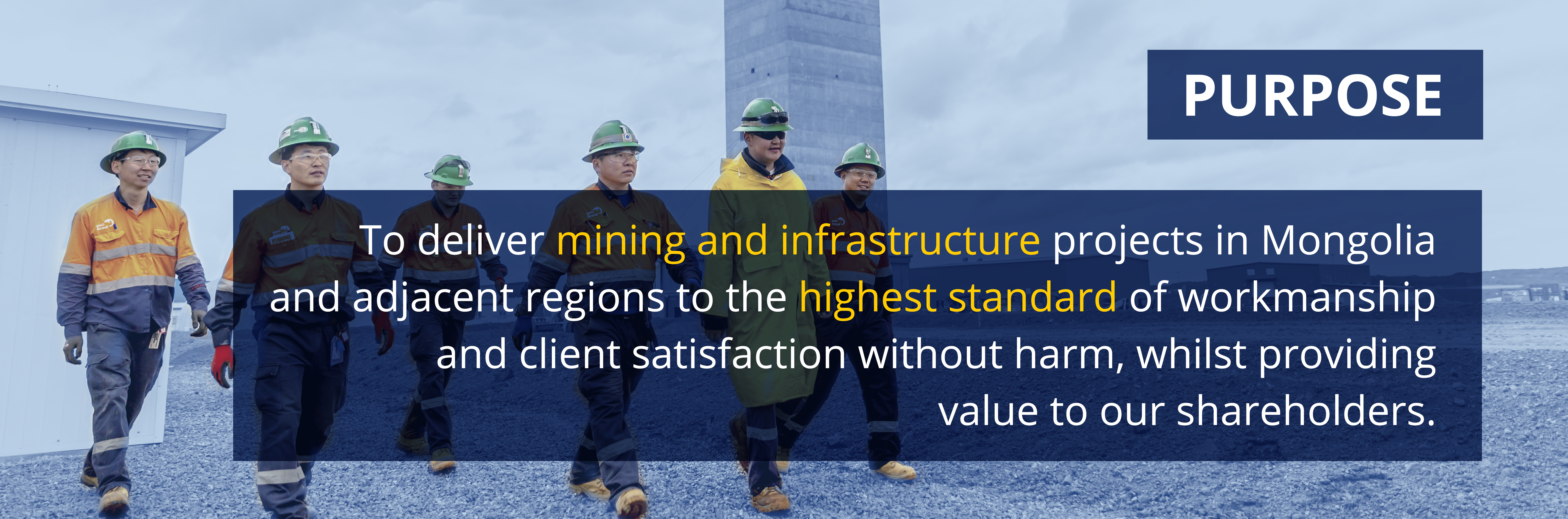 GCR Mongolia | Engineered Excellence