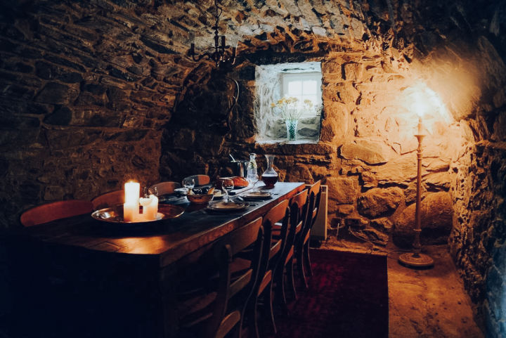 Dine in a castle